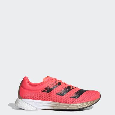 Women Running Pink Adizero Pro Shoes