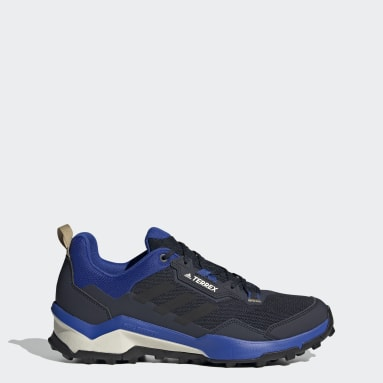 Men's TERREX Blue Terrex AX4 Primegreen Hiking Shoes