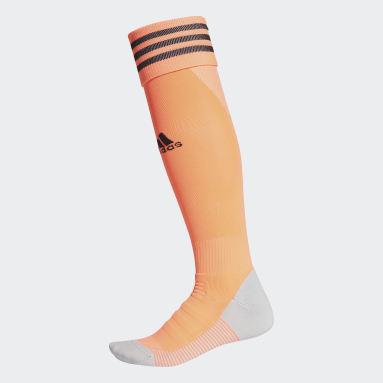 Meião AdiSocks Knee (UNISSEX) Laranja Futebol