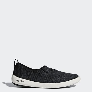 Women TERREX Black Terrex Climacool Sleek Boat Shoes