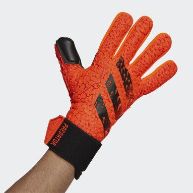 оранжевый Вратарские перчатки Predator Competition