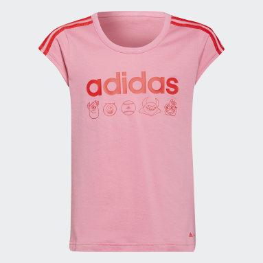 Girls Lifestyle Pink adidas x Disney Pixar Monsters, Inc. Tee