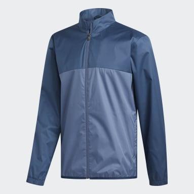 Men Golf Blue Climastorm Provisional Jacket