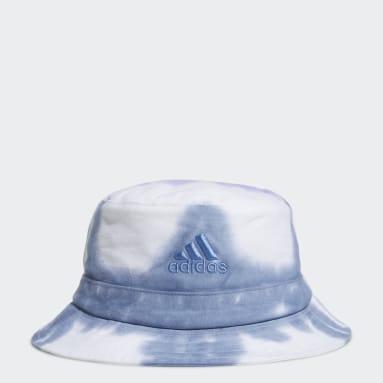 Women's Training Blue Colorwash Bucket Hat
