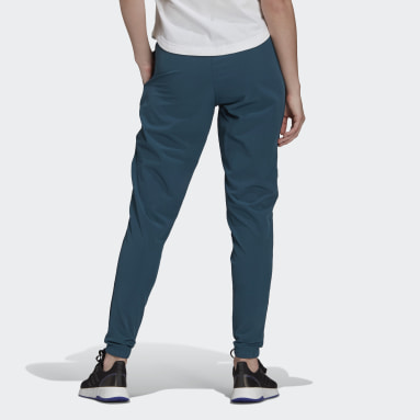 Women's Essentials Turquoise AEROREADY Lightweight Stretchy Woven Sport Pants