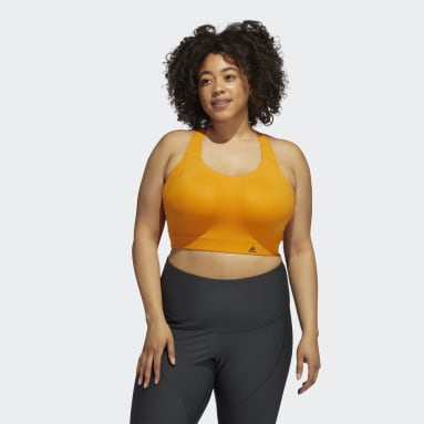 Sujetador Ultimate (Tallas grandes) Naranja Mujer Trail Running
