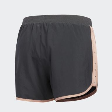 Women Running Grey Marathon 20 Polka-Dot Shorts