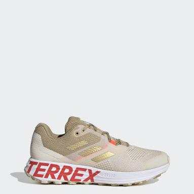 TERREX Wit Terrex Two Flow Trail Running Schoenen