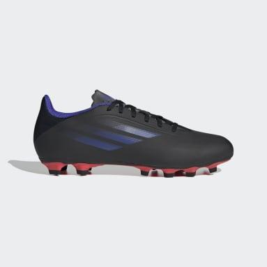 ฟุตบอล สีดำ รองเท้าฟุตบอล X Speedflow.4 Flexible Ground