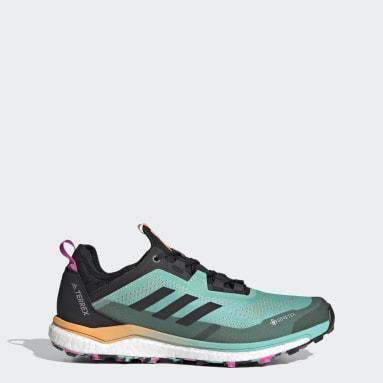 Sapatos de Trail Running Agravic Flow GORE-TEX TERREX Verde Homem TERREX