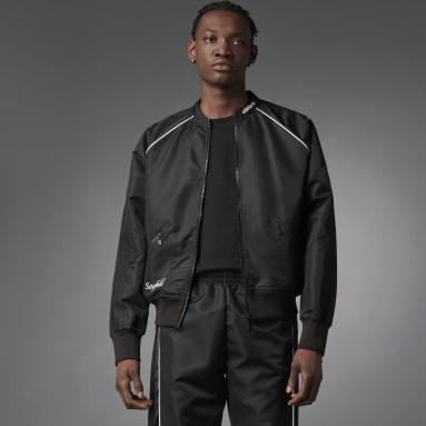 Muži Originals černá Sportovní bunda Blue Version Seefeld
