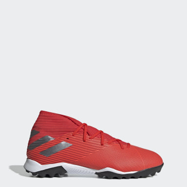 Calzado de Fútbol Nemeziz 19.3 Césped Artificial Rojo Hombre Fútbol