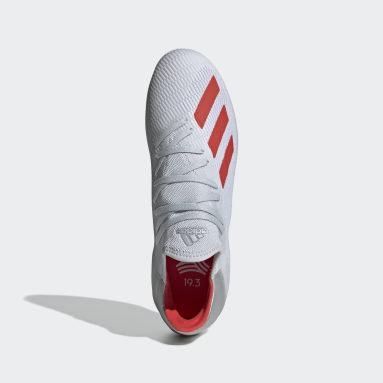 Calzado de Fútbol X 19.3 Bajo Techo Plata Hombre Fútbol