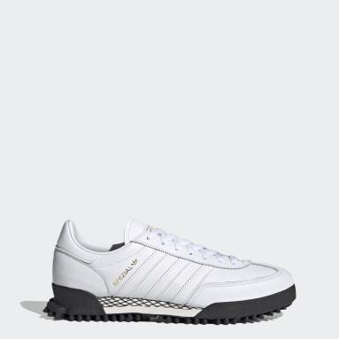 Originals White Handball Spezial Trail Shoes