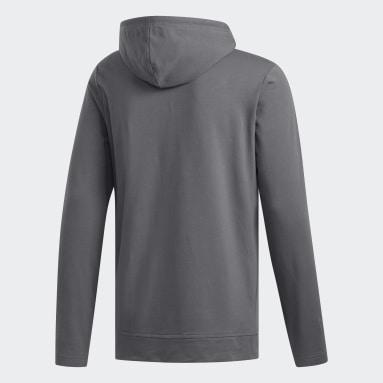 Sweat-shirt à capuche léger gris Hommes Golf