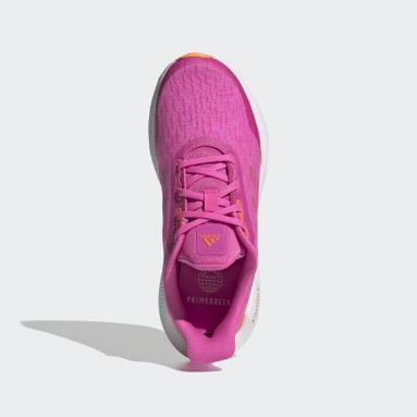 Children Running Pink EQ21 Run Shoes