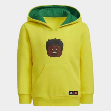 Kids 4-8 Years Basketball Yellow adidas x LEGO® Hoodie Donovan Mitchell