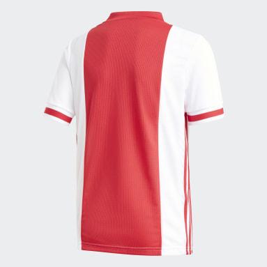 Kinderen Voetbal wit Ajax Amsterdam Thuisshirt