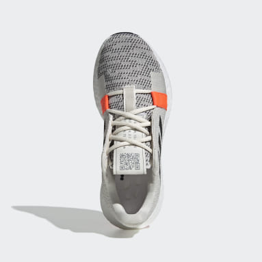 Women Running White Senseboost Go Shoes