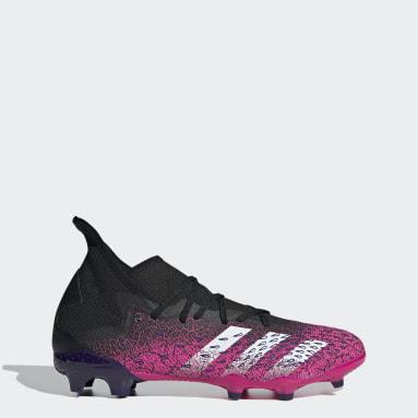 Calzado de Fútbol Predator Freak.3 Terreno Firme Negro Hombre Fútbol