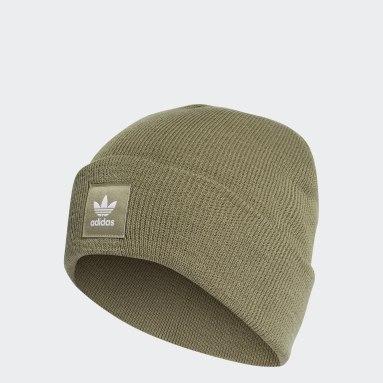 Originals Adicolor Cuff Mütze Grün