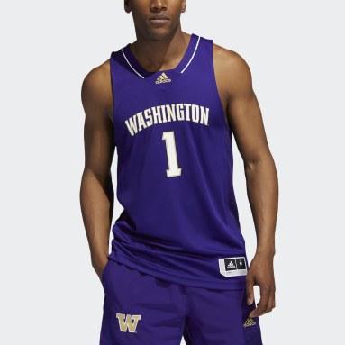 Men's Basketball Purple Huskies NCAA Swingman Jersey