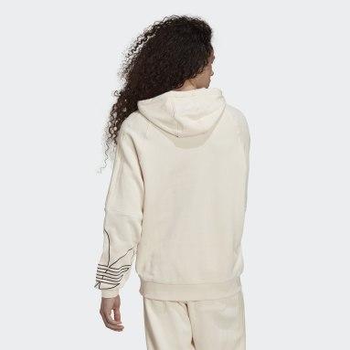 Sudadera con capucha Graphics Tricolor Blanco Hombre Originals