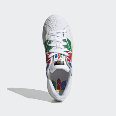 Chaussure Superstar Pure blanc Adolescents Originals