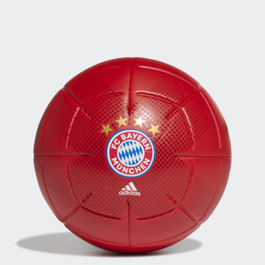 FC Bayern Club Ball Rød