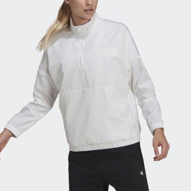 Felpa Parley Bianco Donna Sportswear