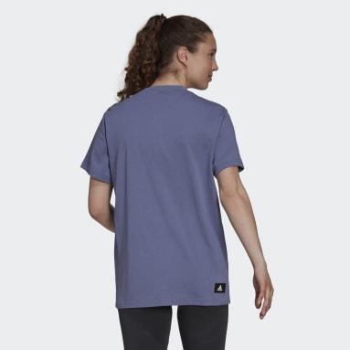 Women's Sportswear Purple adidas Sportswear Future Icons Logo Graphic Tee