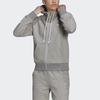 Women Sportswear Grey adidas Sportswear Stadium Full-Zip Hoodie