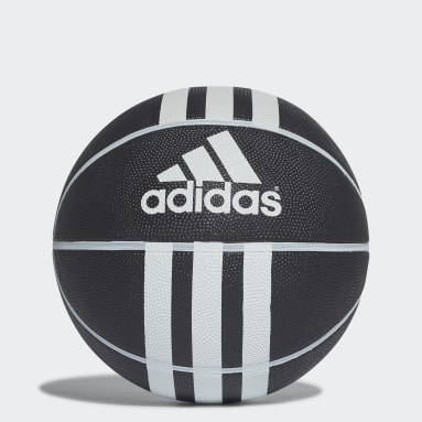 Basket Svart 3-Stripes Rubber X Basketboll
