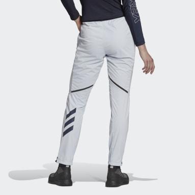 Women TERREX Blue Terrex Xperior Cross-Country Ski Soft Shell Joggers