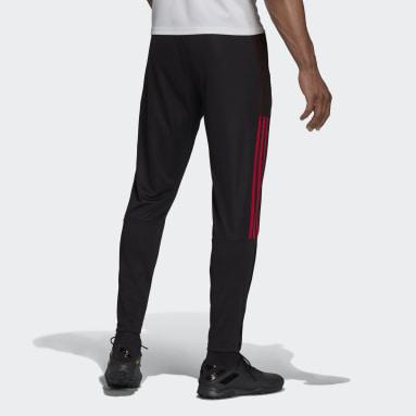 Pantalón entrenamiento Manchester United Tiro Negro Hombre Fútbol