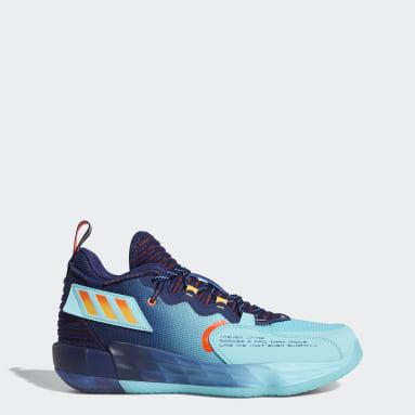 บาสเกตบอล สีน้ำเงิน รองเท้า Dame 7 EXTPLY: DAME TIME