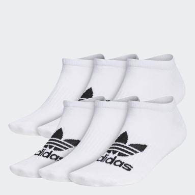 Men's Originals White Classic Superlite No-Show Socks 6 Pairs