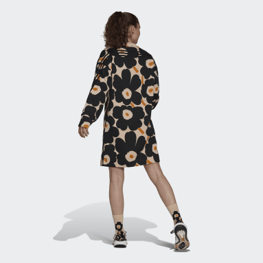 adidas Sportswear Marimekko Fleece Kjole Rosa