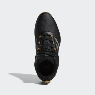 Men Golf Black S2G Recycled Polyester Mid-Cut Golf Shoes
