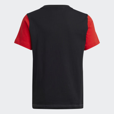 Youth 8-16 Years Gym & Training White Logo T-Shirt