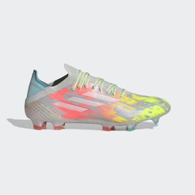 Football Grey X SPEEDFLOW.1 FG