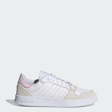 Women Sport Inspired White Breaknet Plus Shoes
