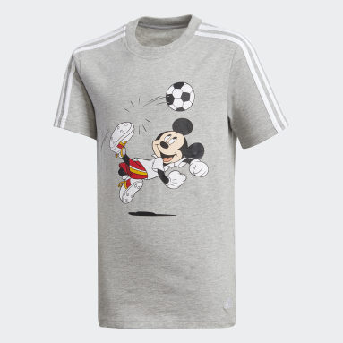 Football Tee Szary
