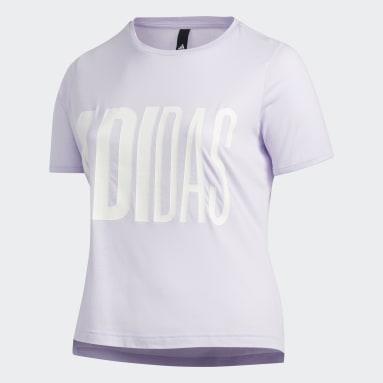 T-shirt Universe (Taglie forti) Viola Donna Sportswear