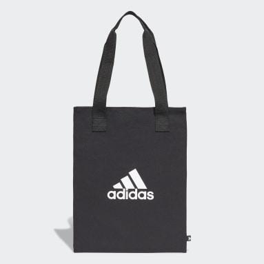 Lifestyle Black Canvas Shopper