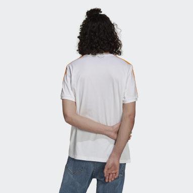 Camiseta Real Madrid 3 bandas Blanco Hombre Fútbol