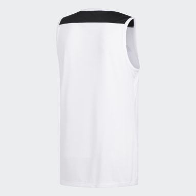 Camiseta Creator 365 Blanco Hombre Baloncesto
