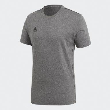 Men Gym & Training Grey Core 18 Tee