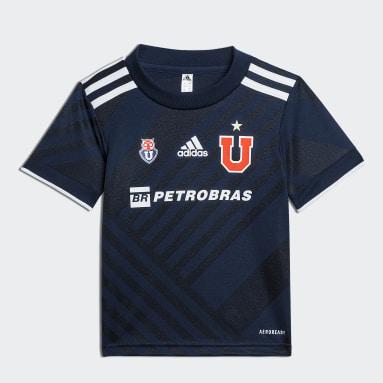 Mini Uniforme Local Club Universidad de Chile 20/21 Azul Niño Fútbol