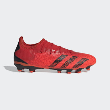 Fußball Predator Freak.3 MG Fußballschuh Rot